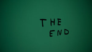 終わりのイメージ