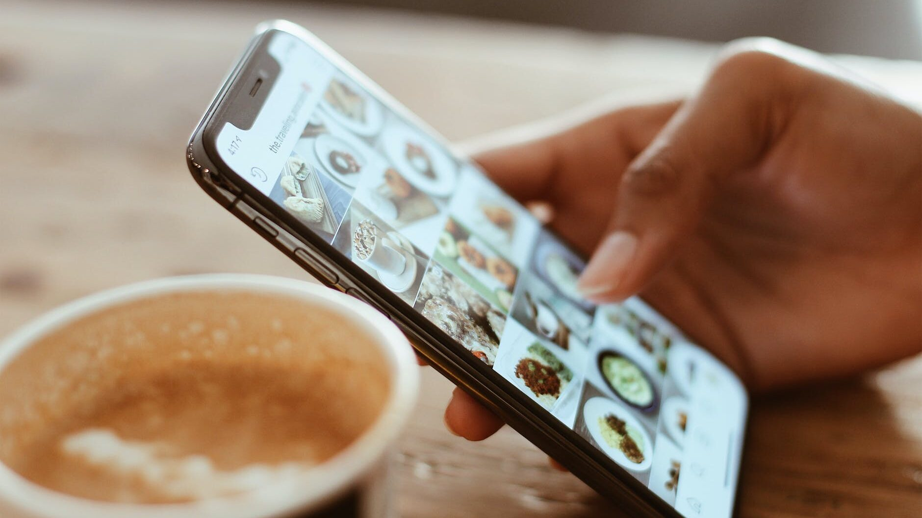 selective focus photography of person using iphone x